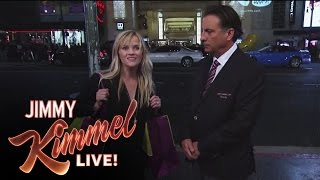 Matt Damon and Andy Garcia Find Reese Witherspoon Outside on Hollywood Blvd.