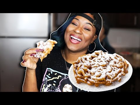 How to make funnel cake without milk and eggs