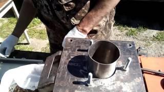 Самодельная машина для очистки кедрового ореха - 2