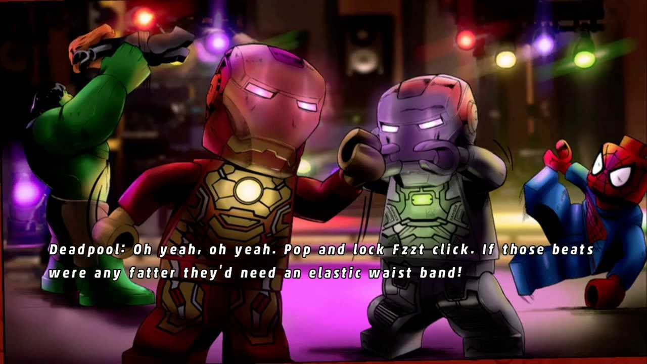 LEGO Marvel Super Heroes - House Party Protocol - 100% ...