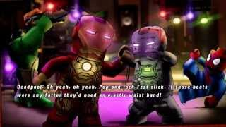 LEGO Marvel Super Heroes - House Party Protocol - 100% Guide (Red Brick X10,  Heartbreaker)