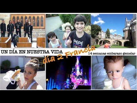 VACACIONES FRANCIA DÍA 2 (14 semanas embarazo gemelar) NANTES + SORPRESA DISNEYLAND PARÍS !!!