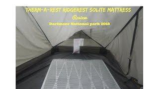 Therm-a-Rest RidgeRest SOLite Mattress review