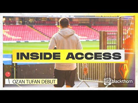Ozan Tufan's Watford DEBUT!  |  Interior access