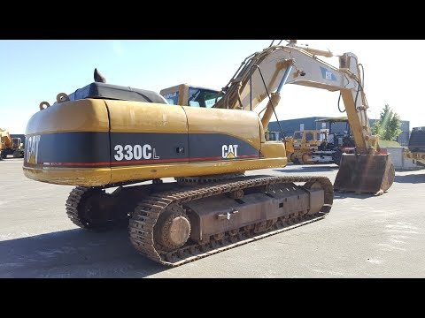 PRIMA Used Equipment: Caterpillar 330CL ME, 2005, 10400h
