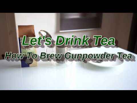 How To Brew Gunpowder Tea (A Chinese Green tea)