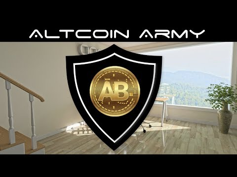 Altcoin Army Public  Announcement