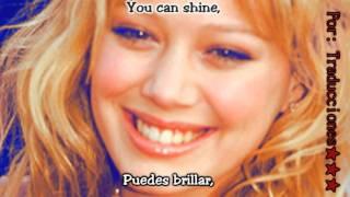 Hilary Duff - Fly (Volar) [Subtitulado en Español & Ingles] HD