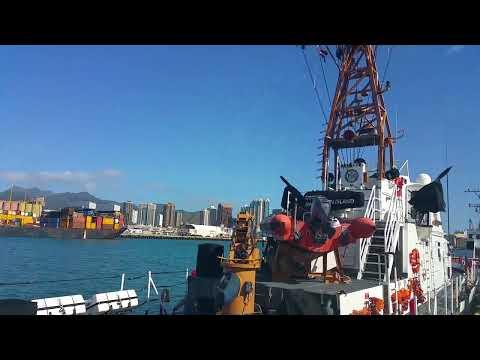 Honolulu Harbor Quick View Part I
