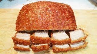 Thịt Heo Quay Giòn Bì Bằng Chảo Cực Nhanh | Tuấn Nguyễn Food