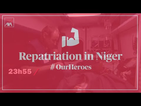 Repatriation in Niger by air ambulance