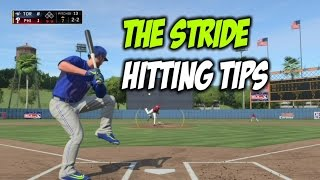 MLB 16 THE SHOW:  STRIDE HITTING TIPS (ZONE + ANALOG)