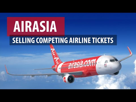AirAsia Selling Competing Airline Tickets