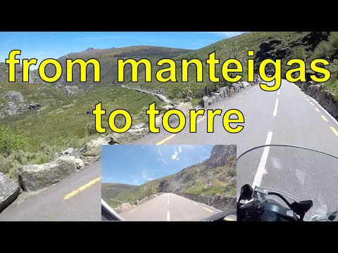 from manteigas to torre (Portugal)