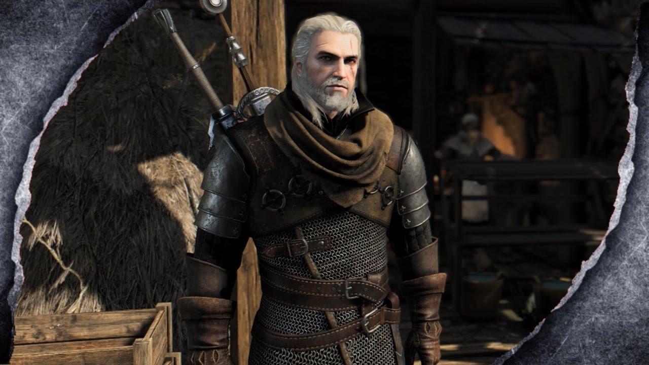 Skyrim Remastered: Bear Armor ⚔️The Witcher 3⚔️♦️MOD