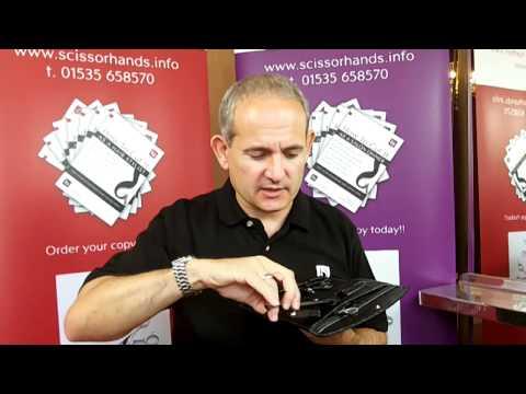 Hairdressing Scissors & Hairdressers Scissors - Scissorhands Carbon Hairdressing Scissor Set