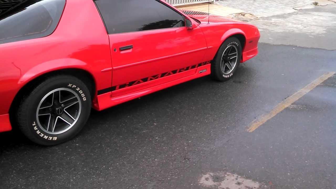 1991 Chevrolet Camaro RS Targa BURNOUT  YouTube