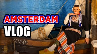 AMSTERDAM VLOG | I GOT OUT IN THE STREET WITH LOCAL CLOTHES!!!