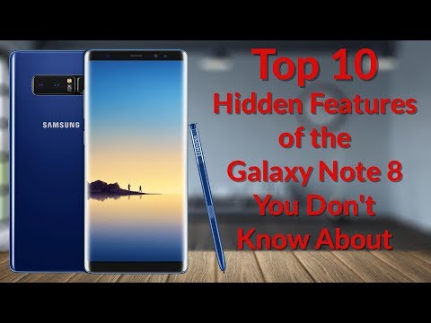 Thumbnail: Top 10 Hidden Features of the Galaxy Note 8 You Don't Know About - YouTube Tech Guy