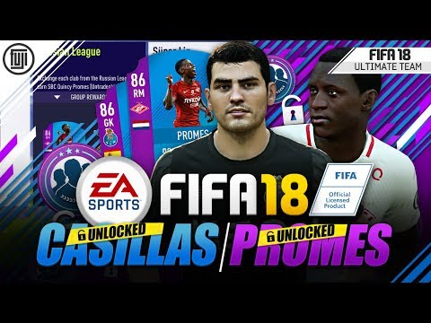 30+ PACKS!!! SBC PROMES + SBC CASILLAS UNLOCKED! - FIFA 18 Ultimate Team