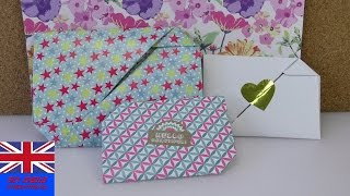 HOW TO FOLD A GIFT LETTER? Easy and quick to learn!