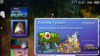 Zombie Tycoon PSP Mini CSO