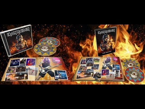 Iron Maiden new live album The Book Of Souls: Live Chapter + Speed of Light live!