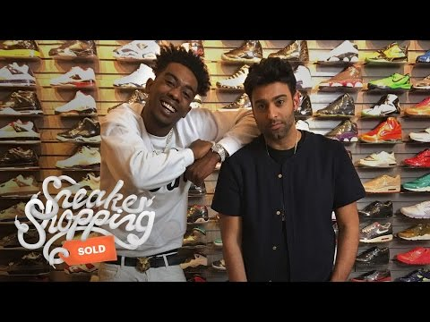 86ec1e28d2ae Desiigner Goes Sneaker Shopping with Complex - YouTube