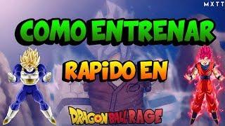 COMO ENTRENAR RAPIDO Y FACIL EN DRAGON BALL Z RAGE (FUNCIONANDO) HACK