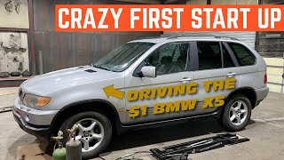 I NEVER Expected It To START So Well! The $1 BMW X5 Runs AGAIN