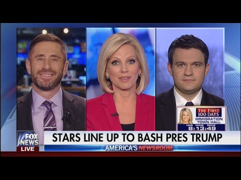 Bernard Whitman on Celebrities Speaking Out Against Trump