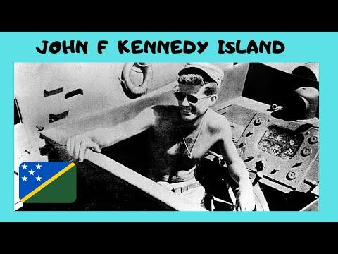 SOLOMON ISLANDS, historic JOHN F KENNEDY'S ISLAND (the PT109 story, Pacific Ocean)