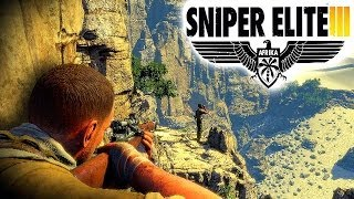 SNIPER ELITE 3 GAMEPLAY - Sniper Elite 3 PS4 1080p