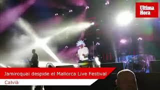 Jamiroquai, en el Mallorca Live Festival