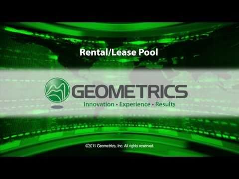 Geometrics Rental / Lease Pool