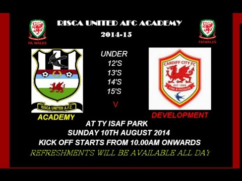 Risca Utd Academy u12 vs Cardiff West 10-08-14
