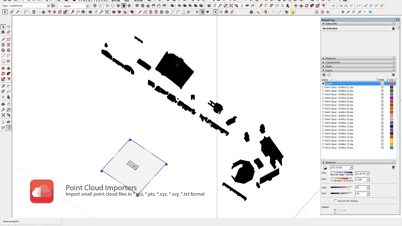 Point Cloud Importers | SketchUp Extension Warehouse