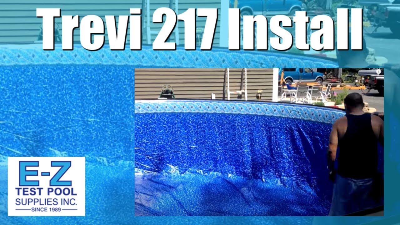 Trevi 217 Pool Job Above Ground Pool Construction Youtube