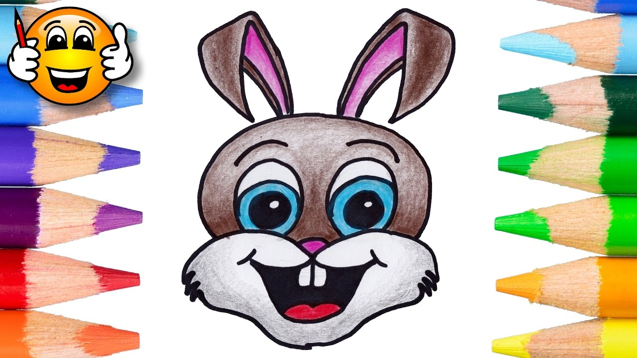 coloring pages for cute bunny rabbit coloring book videos