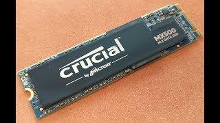 ¡MI PRIMER SSD M.2! CRUCIAL MX500 500GB - MICRON