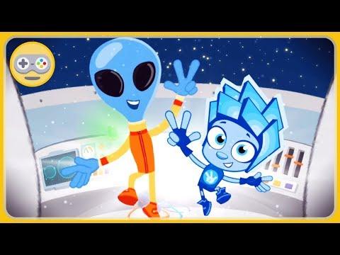 Фиксики игра для детей Математика #3. Запуск ракеты. Ремонт корабля инопланетян. Новые друзья