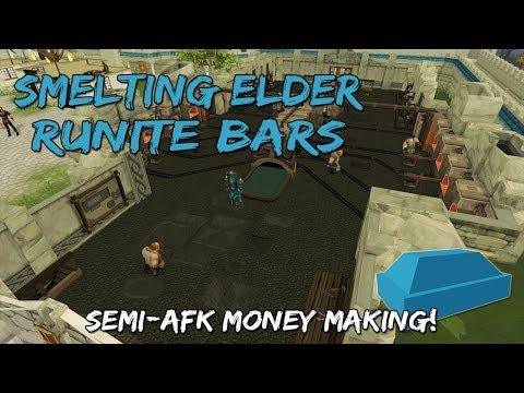 Semi-AFK Money Making Guide 2019   Mining & Smithing Rework [Runescape 3]