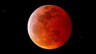 Super-Blut-Wolfs-Mondfinsternis