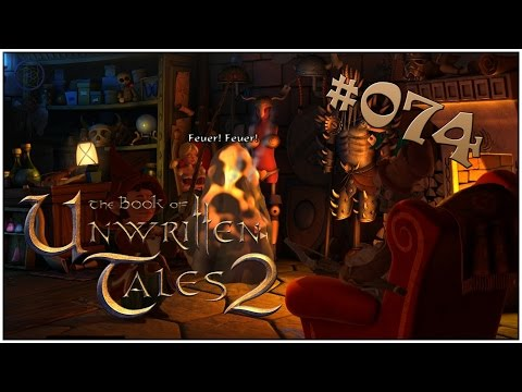 THE BOOK OF UNWRITTEN TALES 2 #074 - Gespenster Simulator 2015 - Let´s Play  