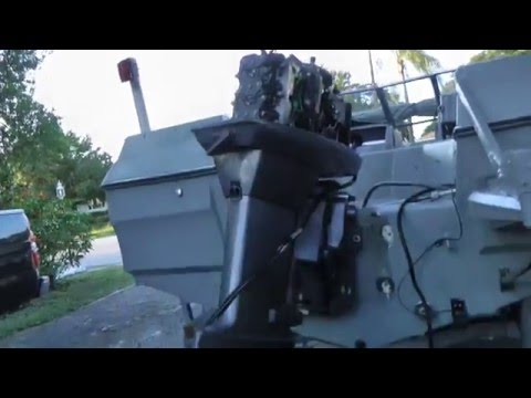 How To Remove A Outboard Motor From A Boat