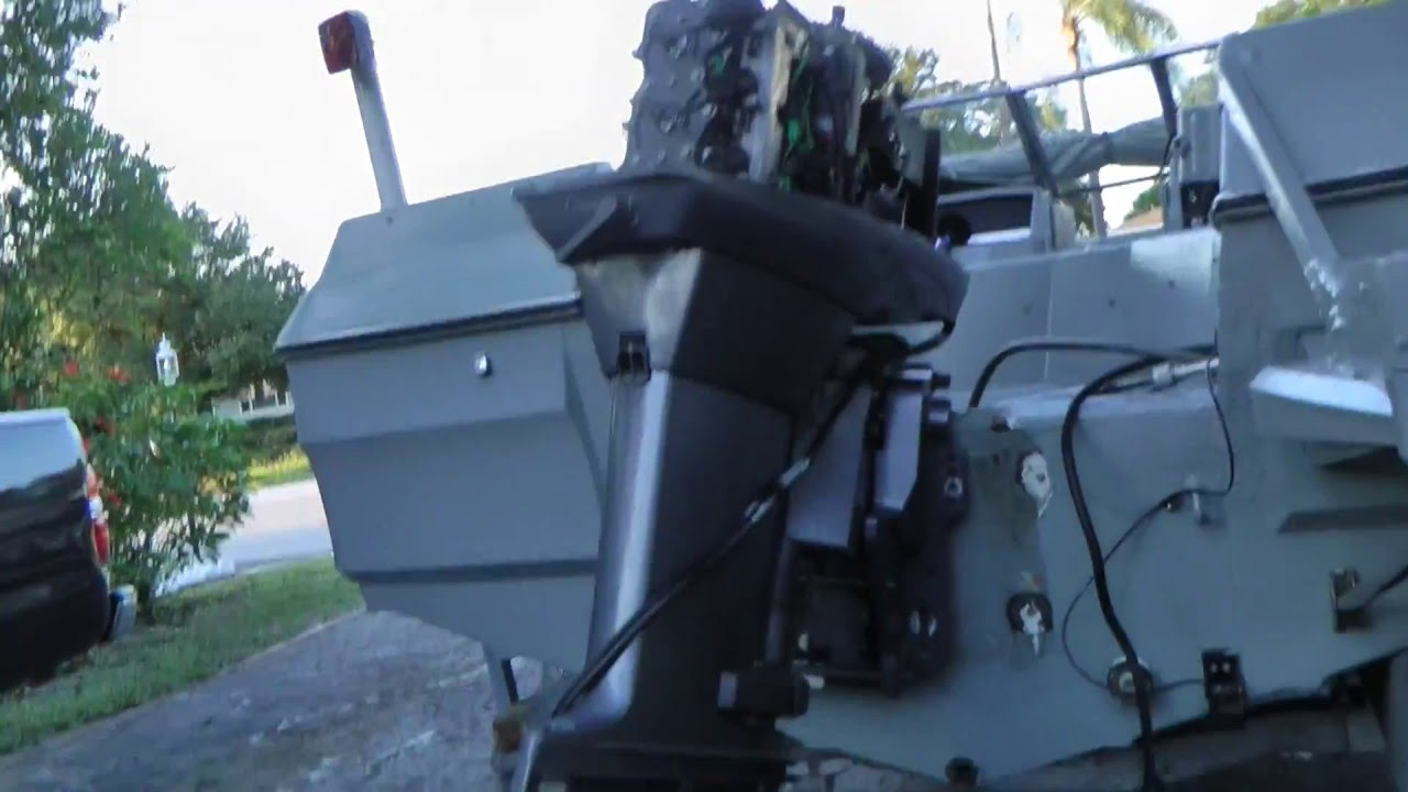 hight resolution of how to remove a outboard motor from a boat