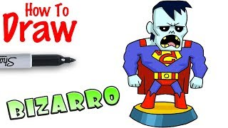 How to Draw Bizarro | Teeny Titans Go