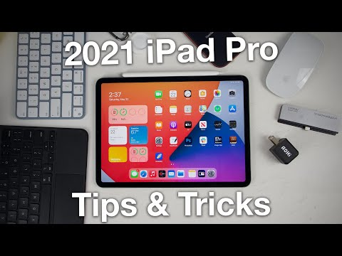 How to use M1 iPad Pro + Tips/Tricks!