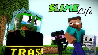Monster School : Enderman's Life Part 6 with SLIME's Life - BEST Minecraft Animation
