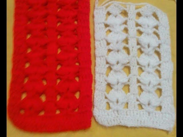 Simpal & Easy Toran ki patti/Crochet toran border(???????? ?????)How to make Woolen toran Lace